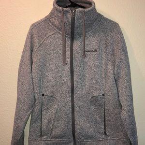 Avalanche Full Zip Sweater Knit Fleece Jacket